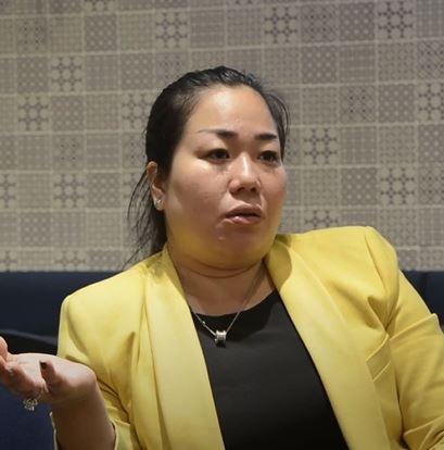 Chị Huỳnh Thị Thanh Tâm